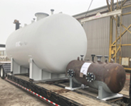 Steel Pressure Vessel for Dixie Southern, Steel Fabricator in Florida