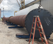 Large Steel Pipe from Dixie Southern, UL Certified Steel Fabricator in Florida