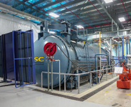 Steel Autoclave from Autoclave Fabrication by Dixie Southern