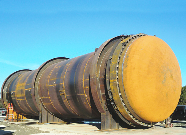 Steel Autoclave, Manufactured by Dixie Southern, ASME Certified