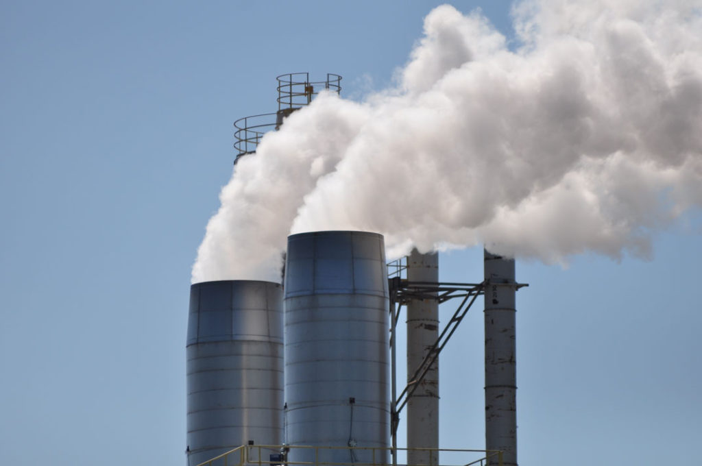 Large Steel Exhaust Stacks from Dixie Southern, a Certified Steel Fabricator in Florida