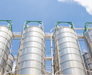 Steel Storage Silos from Dixie Southern, ASME Accredited Steel Fabricator